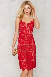 Nasty Gal For Love And Lemons Gianna Midi Dress