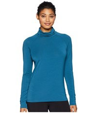 Fig Clothing Pik Top Peacock Blue