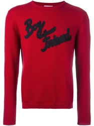Sun 68 'Boy Friend' Jumper Red