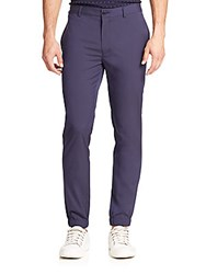 English Laundry Flat Front Casual Pants Navy