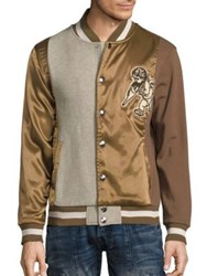 Prps Aquifer Varsity Regular Fit Jacket Brown