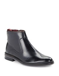 Ted Baker Rousse Polished Leather Boots Black
