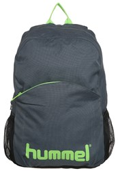 Hummel Stay Authentic Rucksack Dark Slate Green Flash Anthracite