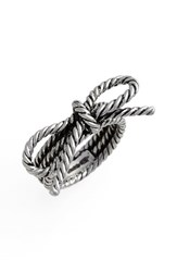 Marc By Marc Jacobs Women's Marc Jacobs Rope Bow Ring Silver
