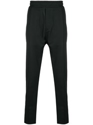 Low Brand Elasticated Waist Tailored Trousers Black