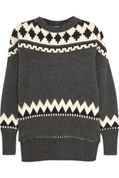 Adam By Adam Lippes Fair Isle Wool And Cashmere Blend Sweater