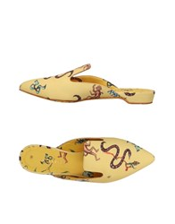 Giannico Mules Yellow