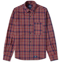 Bleu De Paname 1 Pocket Shirt Red