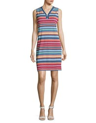 Rafaella Petite Aztec Print Sleeveless Dress