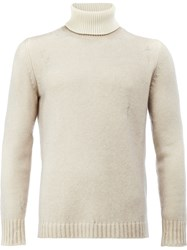 Avant Toi Roll Neck Jumper Men Cashmere Merino Xl Nude Neutrals