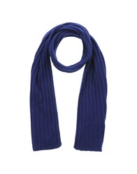 Kangra Cashmere Accessories Oblong Scarves Women Dark Blue