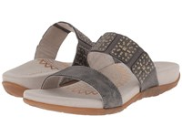Aetrex Macy Pewter Women's Sandals