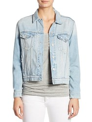 Amo Pop Denim Jacket Starboard