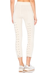N Philanthropy Reiko Lace Back Sweatpant Ivory