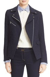Veronica Beard Women's Lounge Moto Jacket