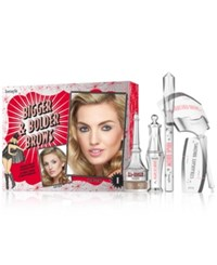 Benefit 6 Pc. Bigger And Bolder Brow Set Light