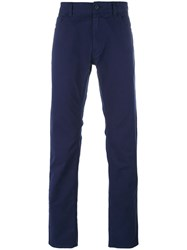 Love Moschino Peace Sign Pocket Trousers Blue
