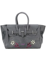Golden Goose Deluxe Brand Embellished Tote Bag Grey