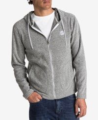 Quiksilver Men's After Surf Fleece Full Zip Hoodie Grey