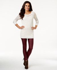 Thalia Sodi Embellished Layered Look Sweater Only At Macy's Cloud