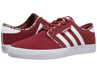 Adidas Seeley Mystery Red White White Men's Skate Shoes
