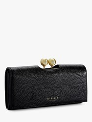 Ted Baker Josiey Leather Matinee Purse Black