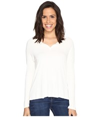 Culture Phit Cambria Long Sleeve Top Off White Women's Clothing