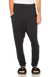 Baja East French Terry Sweatpants In Blue