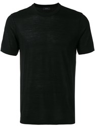 Joseph Short Sleeve Sweater Black