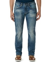 Buffalo David Bitton King X Slim Straight Bootcut Fit Stretch Jeans