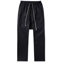 Rick Owens Drawstring Long Pant Black