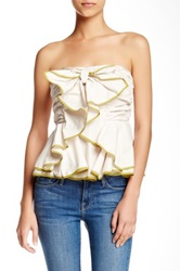 Ryu Bow Front Tube Top Beige