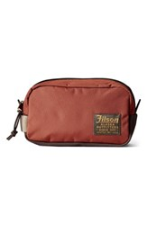 Filson Travel Kit Rusted Red