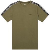Coach Horse And Carriage Taped Sleeve Tee Green