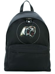 Givenchy Baboon Print Backpack Black