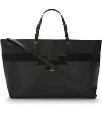 Jerome Dreyfuss Maurice Leather Tote Noir