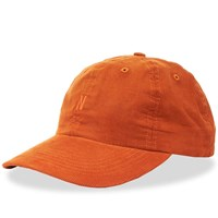 Norse Projects Baby Corduroy Sports Cap Orange