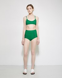 A Detacher Amanda Classic Swim Top Emerald