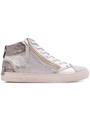 Crime London Java Mid Sneakers Metallic