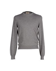 S.O.H.O New York Soho Knitwear Jumpers Men Grey