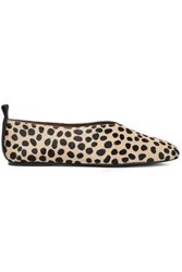 Joseph Woman Leopard Print Calf Hair Ballet Flats Animal Print