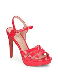 Vince Camuto Jillian High Heel Sandals Red