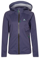 Salomon Veyrier Outdoor Jacket Artist Grey Purple