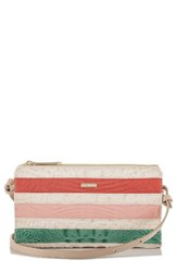 Brahmin Sienna Leather Crossbody Bag Beige Sunglow Cayo