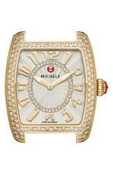Michele Women's Urban Mini Diamond Dial Watch Case 29Mm X 30Mm