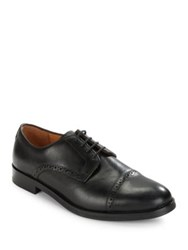 Polo Ralph Lauren Morgfield Leather Oxfords Black