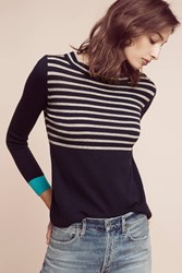 Anthropologie Grace Cashmere Pullover Cream