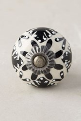 Anthropologie Gardening Indoors Knob Black And White