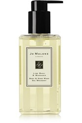 Jo Malone London Lime Basil And Mandarin Body And Hand Wash Colorless