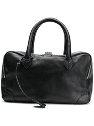 Golden Goose Deluxe Brand Equipage Tote Bag Black